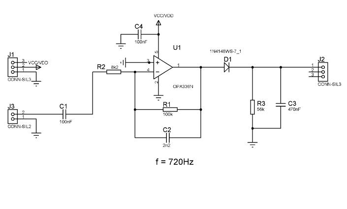 wireless electronic drum kitelectronic circuit envelope filter opa336